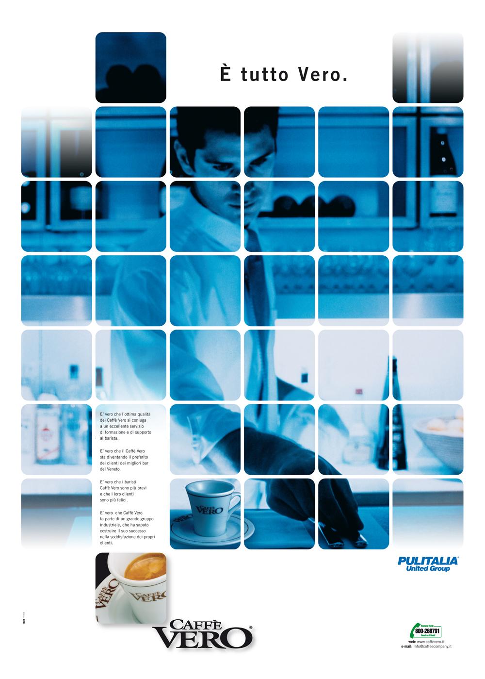 Advertising-Campagna pubblicitaria CaffeVero