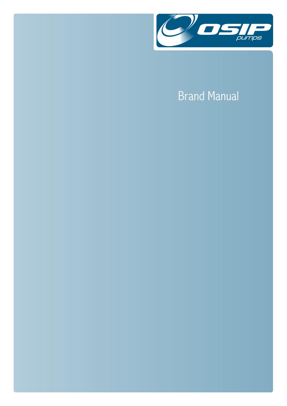 Corporate image-immagine coordinata aziendale: Manuale Operativo-Brand Manual OSIP