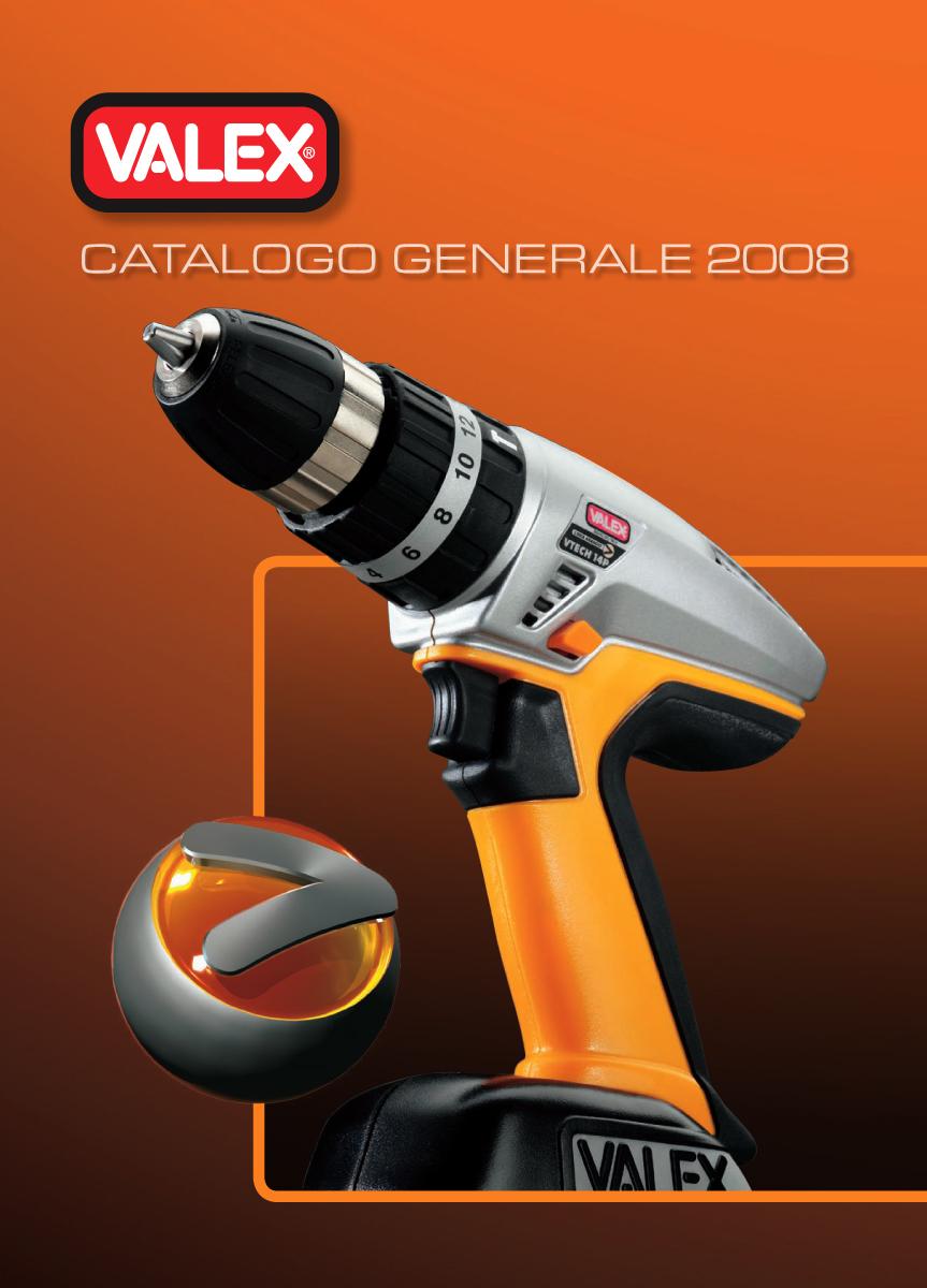 strumenti di promozione-promotional activities-Catalogo Valex 2008
