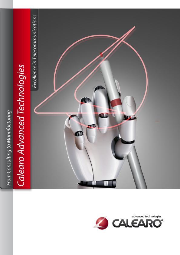 strumenti di promozione-promotional activities: brochure Tecnologia Avanzata Calearo