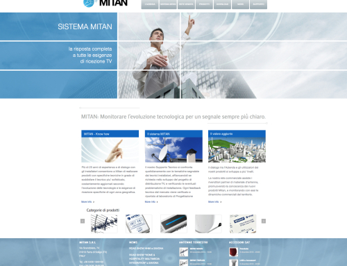 Website Mitan Technologies