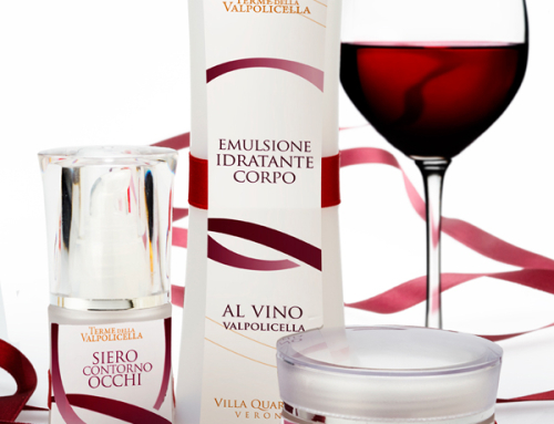 Packaging per linea cosmetica Vinoterapia