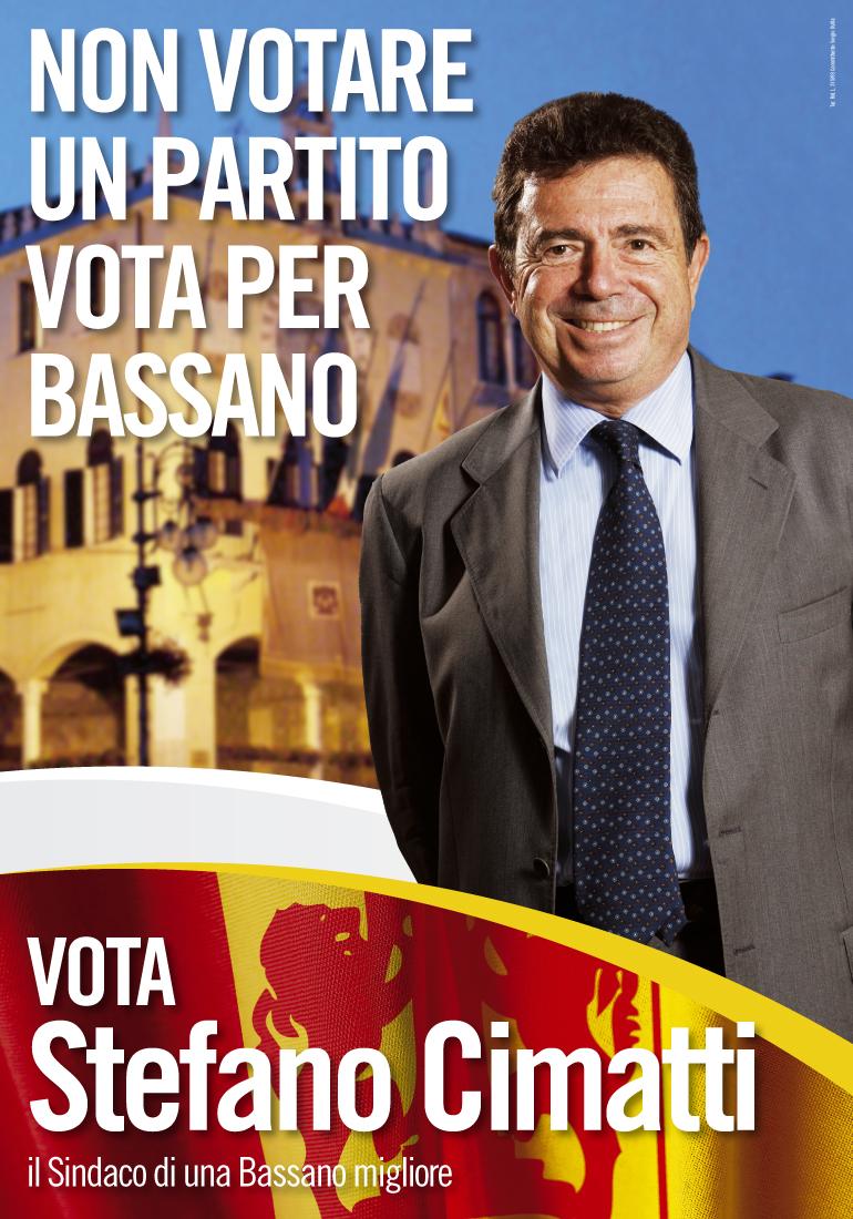 Poster sindaco Cimatti