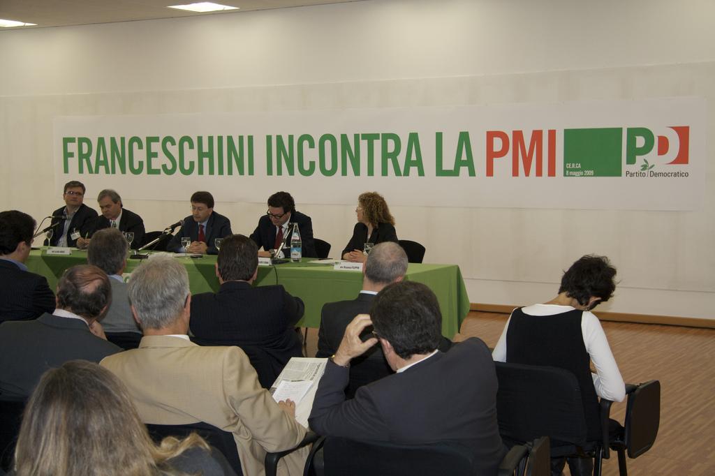 Promo Meeting per l'evento- incontro tra l'Onorevole Franceschini e le PMI