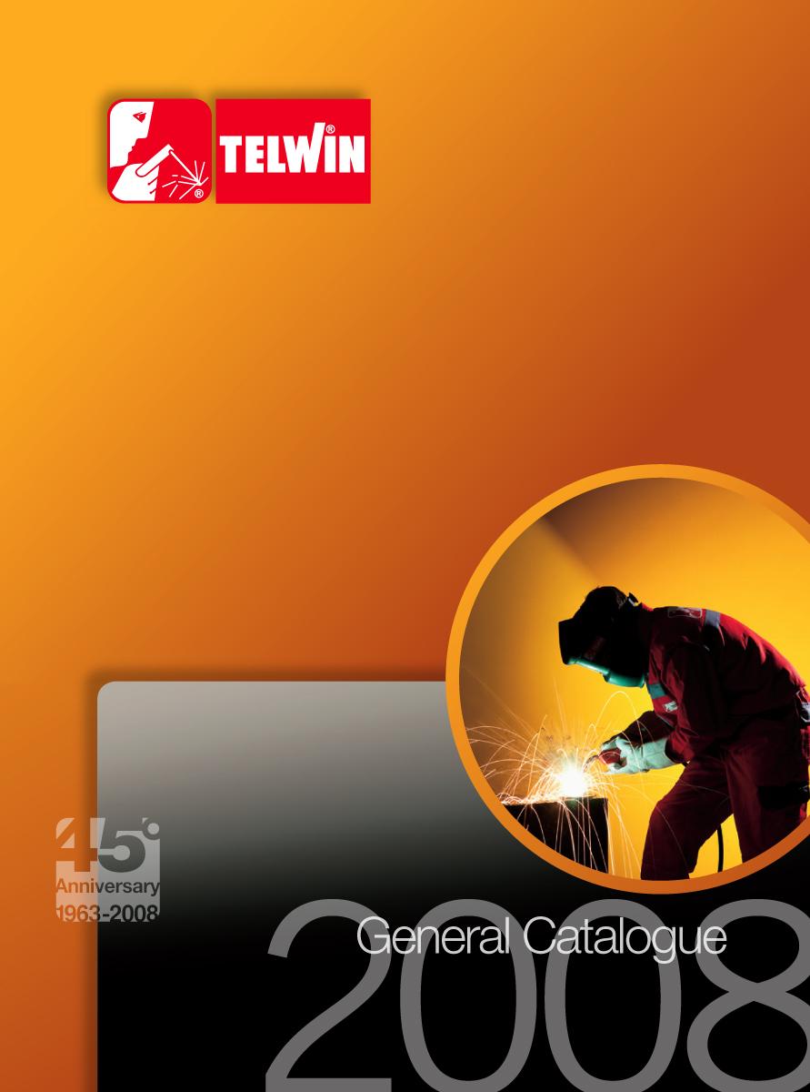 strumenti di promozione-promotional activities: Catalogo generale Telwin 2008