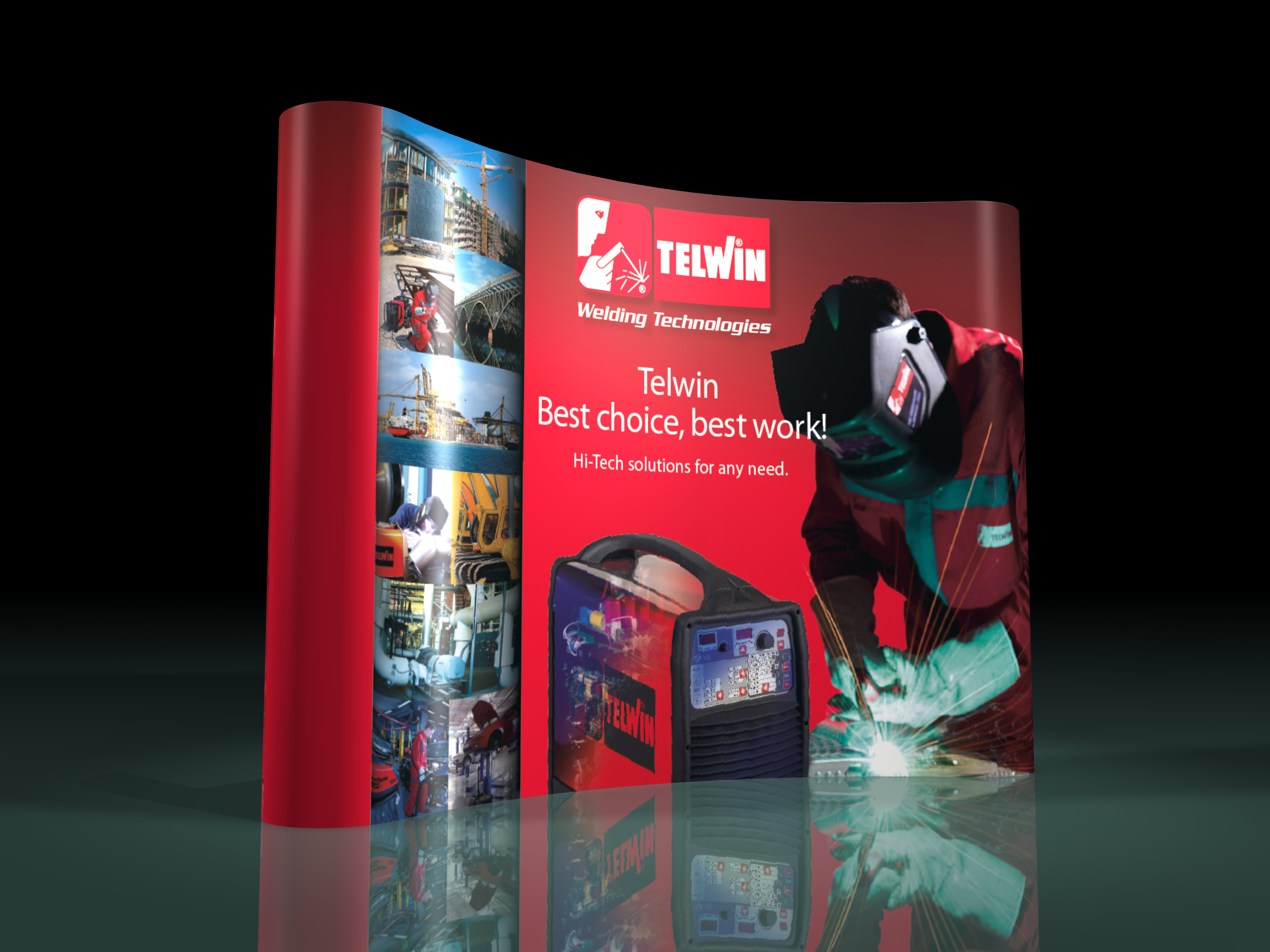 visual merchandising espositore per allestimenti-display-telwin