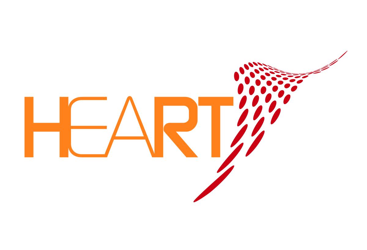 Immagine coordinata-corporate image: Logo aziendale Heart, mark