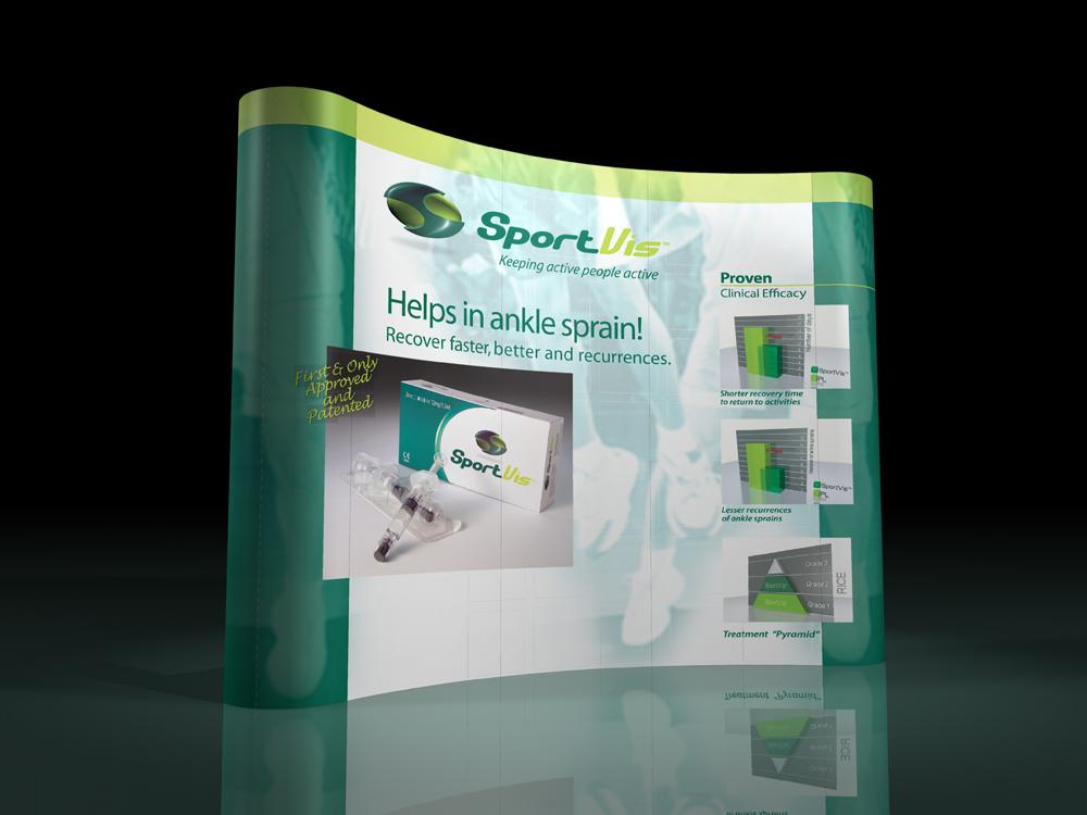 visual merchandising allestimento per fiera-espositore-display