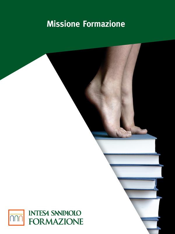 La copertina della brochure per Intesa SanPaolo formazione