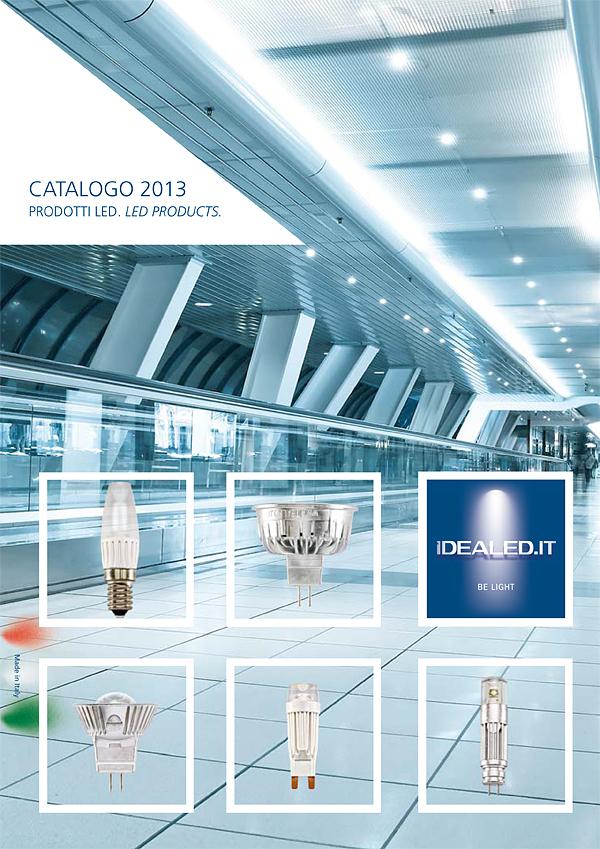 Copertina catalogo generale Idealed 2013